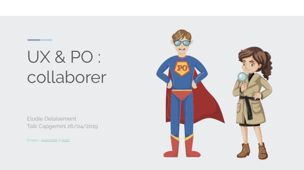 UX & PO : collaborer - Téléchargez la présentation au format .pdf